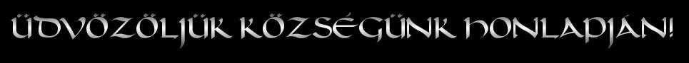 – Felgyő Község Honlapja –